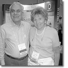 Gus Kotsanis and Doris Rapp